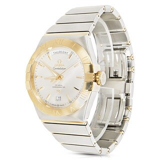 Pre-Owned & Unworn Omega Constellation 123.20.38.22.02.002 Mens Watch 18K Yellow Gold/ Steel