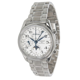 Pre-Owned Longines Master Chrono L2.673.4 Mens Watch in Stainless Steel