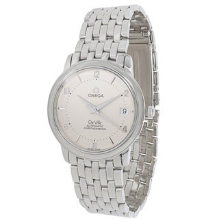 Pre-Owned Omega De Ville Prestige Chronometer 4500.31 Mens Watch in Stainless Steel
