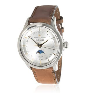 Pre-owned Maurice Lacroix Les Classiques LC6068-SS001-131 Mens Watch in Stainless Steel|https://ak1.ostkcdn.com/images/products/12736285/P19514696.jpg?impolicy=medium