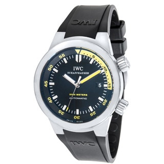 Pre-owned IWC Aquatimer IW353804 Mens Watch in Titanium