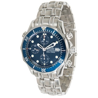 Pre-owned Omega Seamaster Professional Chronograph 2599.80.00 Mens Watch Stainless Steel
