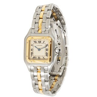 Pre-Owned Cartier Panthere W25029B5 Ladies Watch in 18K Yellow Gold/Steel