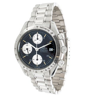 Pre-owned Omega Speedmaster Reduced Chronograph 3511.50 Mens Watch in Stainless Steel