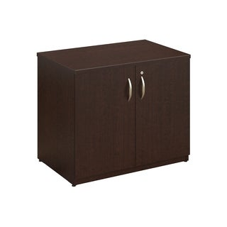 Bush Business Furniture Series C Elite 36W Storage Cabinet in Cherry