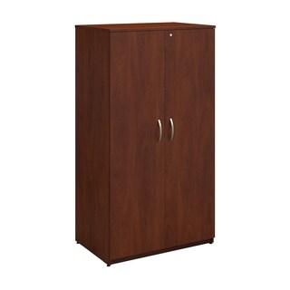 Bush Business Furniture Series C Elite 36W Hansen Cherry Storage Wardrobe Tower
