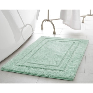 Laura Ashley Pearl Set of 2 Double Border Bath Mats