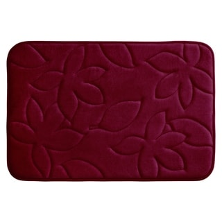 Blowing Leaves Memory Foam 20 x 34-inch Bath Mat with BounceComfort Technology