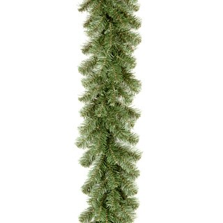 Green Artificial Kincaid Spruce 9-foot Garland