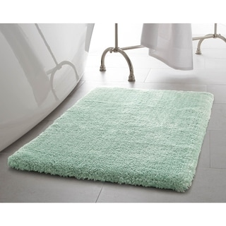 Laura Ashley Pearl Plush 17 x 24 in. Bath Mat