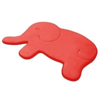 Laura Ashley Memory Foam Elephant 20 x 32 in. Bath Mat
