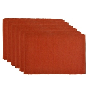 Orange Cotton Spice Placemats (Pack of 6)