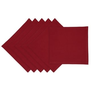 Redwood Burgundy Cotton Napkins (Pack of 6)
