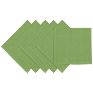 Jolly Green Cotton Square Napkins (Pack of 6)