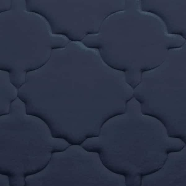 Dorothy Memory Foam 17 In X 24 In 2 Piece Bath Mat Set W Bouncecomfort Technology Overstock 12737897 Marine Blue