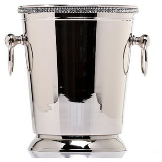 Impulse! Anastasia Silver Metal and Crystals Bottle Cooler