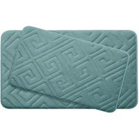 Caicos Memory Foam 2-Piece Bath Mat Set w/ BounceComfort Technology