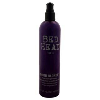 TIGI Bed Head Dumb Blonde 13.5-ounce Purple Toning Shampoo