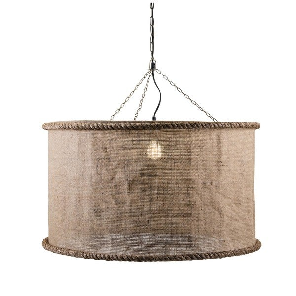 drum large dainolite garden with home light product in pendant white on shade oversized gold