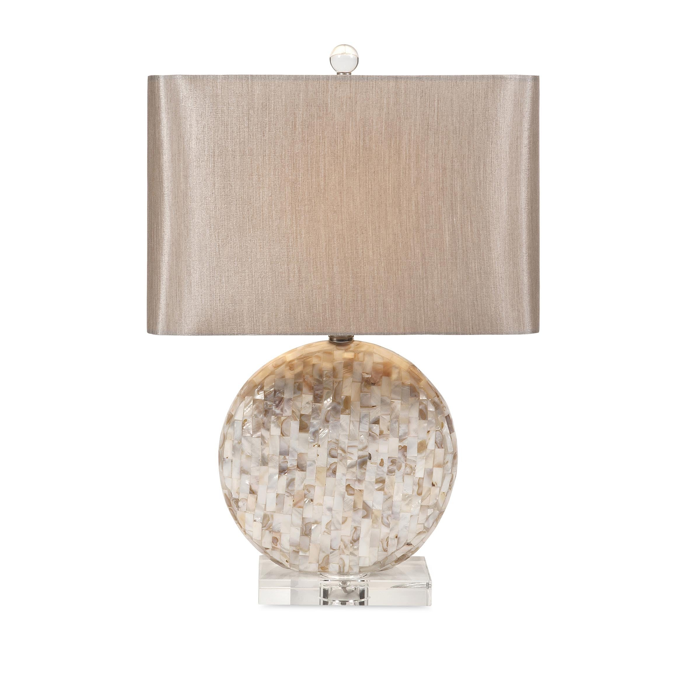 IMAX Whitney Mother of Pearl Table Lamp (Table lamps), Be...