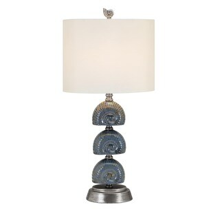 Seashell Ceramic Table Lamp