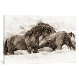 iCanvas Brothers by Lisa Dearing Canvas Print