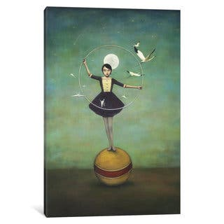 iCanvas Lunas Circle by Duy Huynh Canvas Print