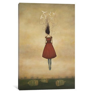 Maison Rouge 'Suspension of Disbelief' by Duy Huynh Canvas Print