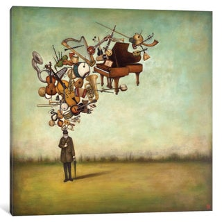 Link to iCanvas Thanks for the Melodies by Duy Huynh Canvas Print Similar Items in Collectibles