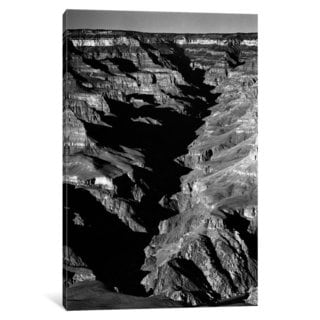 iCanvas Grand Canyon From S. Rim, 1941 by Ansel Adams Canvas Print