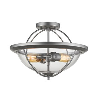 Persis 2 Light Semi Flush Mount
