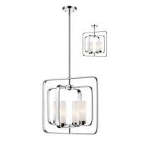 Aideen 4 Light Pendant - Chrome/Silver