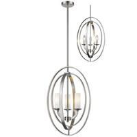 Ashling 3 Light Pendant - Silver