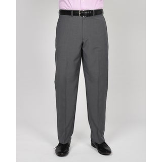 Geoffrey Beene Men's Grey Polyester/Rayon Check Suit Separates Pants