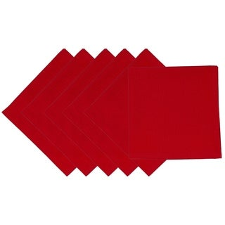 Tango Red Cotton Napkin (Pack of 6)