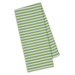 Lime Stripe Dishtowel (Pack of 4)