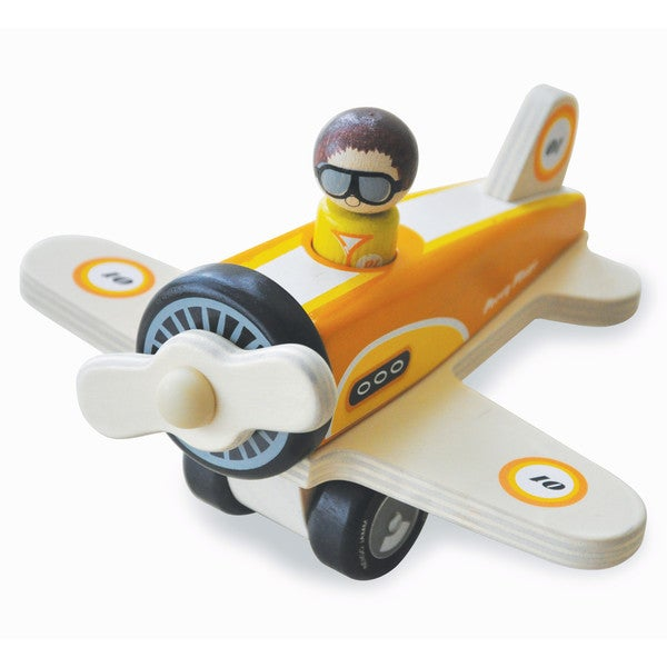 Indigo Jamm Percy Multicolor Wood Plane Toy