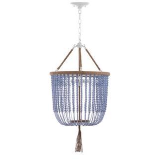 Safavieh Lighting 18-Inch Adjustable Beaded 3-Light Angie Blue Pendant Lamp|https://ak1.ostkcdn.com/images/products/12738553/P19516567.jpg?impolicy=medium