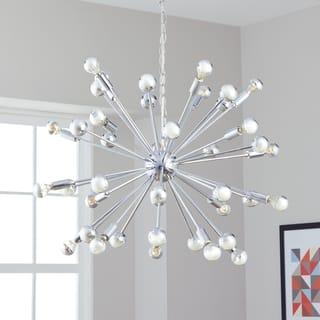 Safavieh Lighting 31-Inch Adjustable 20-Light Starburst Sputnik Chrome Pendant Lamp|https://ak1.ostkcdn.com/images/products/12738574/P19516724.jpg?impolicy=medium