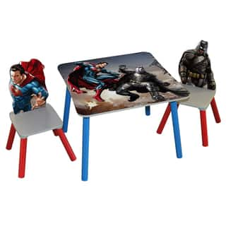 O'Kids 'Batman vs Superman: Dawn of Justice' Wooden Table and Chairs Set https://ak1.ostkcdn.com/images/products/12738760/P19517584.jpg?impolicy=medium