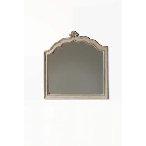 A.R.T. Furniture Provenance Crowned Landscape Mirror - Cream