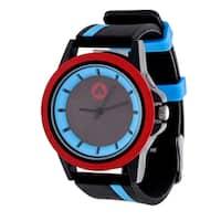Airwalk Blue Striped Strap Analog Watch