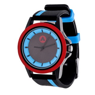 Airwalk Blue Striped Strap Analog Watch