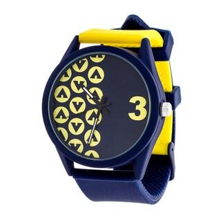 Airwalk Yellow Analog Sport Watch