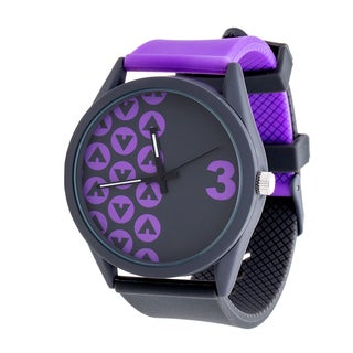 Airwalk Purple Analog Sport Watch