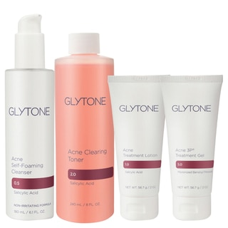 Glytone 4-piece Acne Clearing System