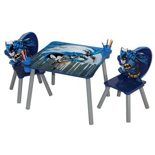 O'Kids Batman Table and Chairs Set