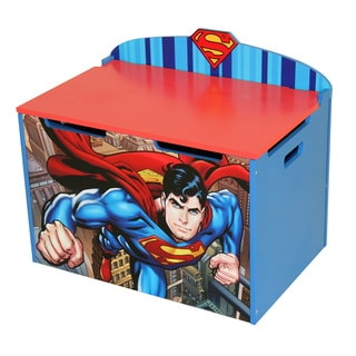 O'Kids Superman Multicolor MDF Toy Box