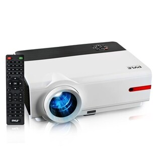 Pyle PRJLE83 1080p HD Home Theater Projector (Mac and PC Compatible)