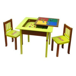 O'Kids Scooby Doo Deluxe 4-in-1 Flip Top Table and Chairs Set